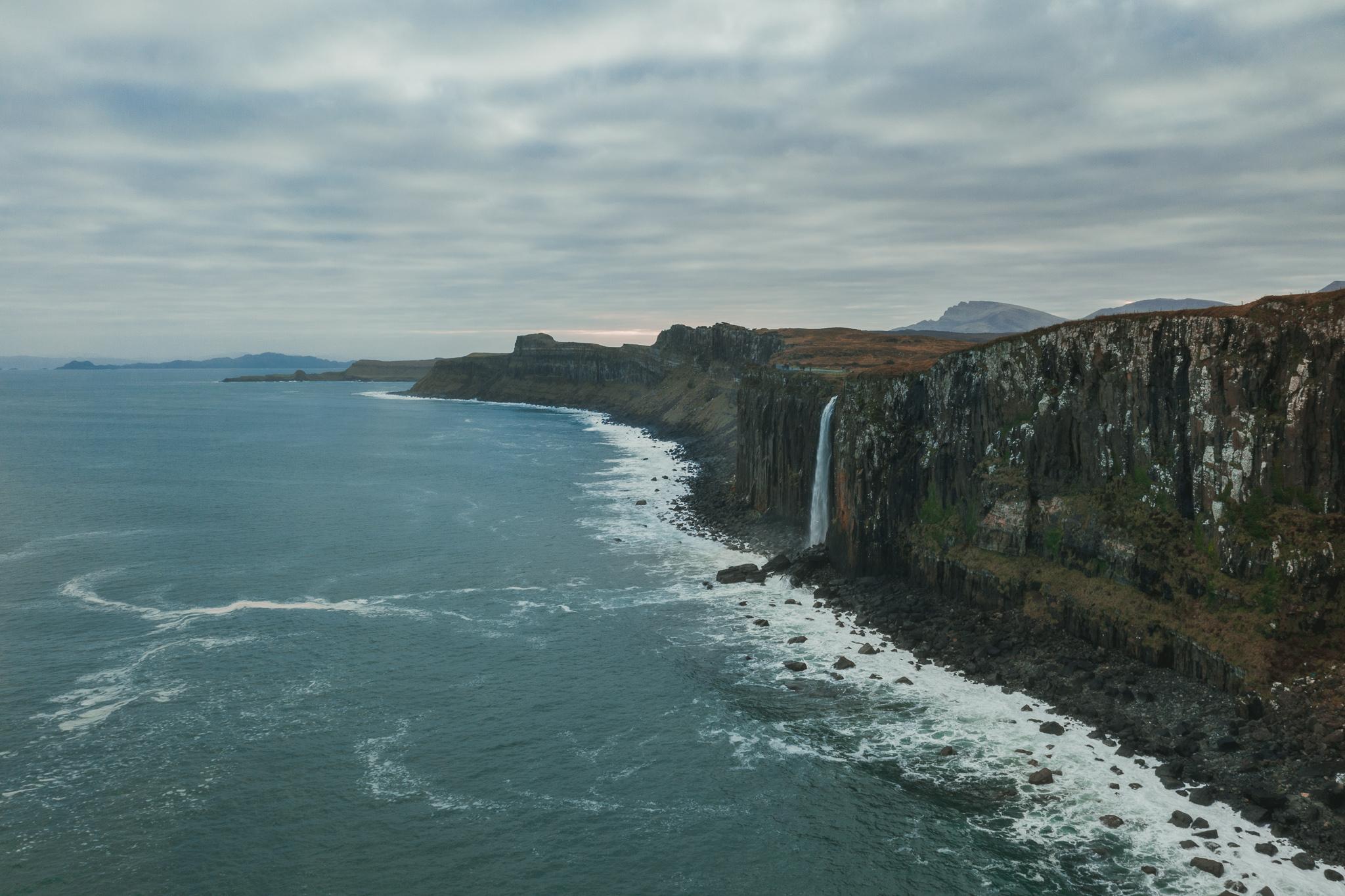 kilt rock skye waterfall