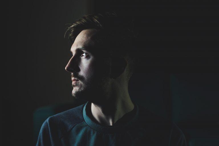 man silhouette portrait light photography