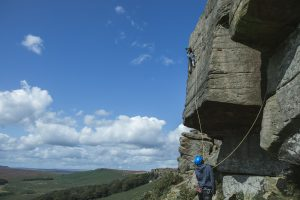 climbing photographer UK Wuthering