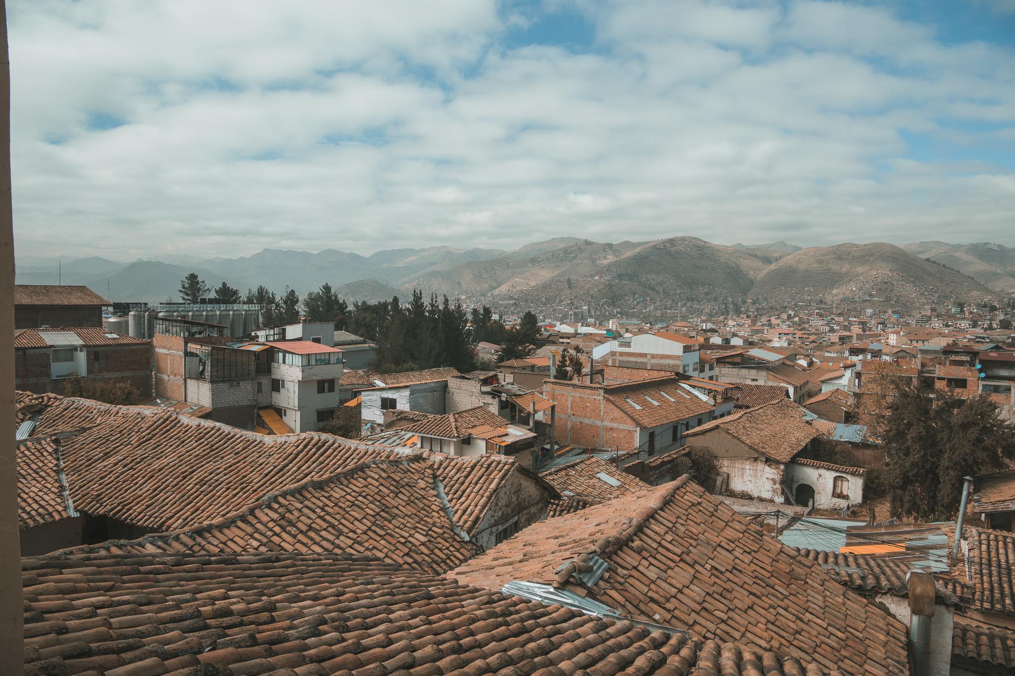 cusco roof tops