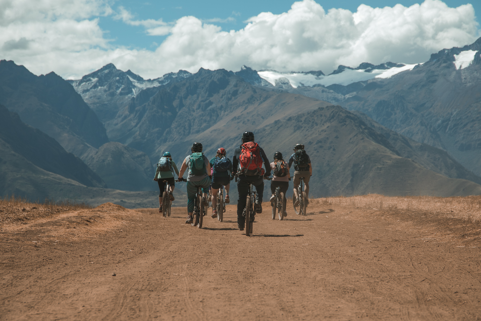 mountain biking tour peru flashpack