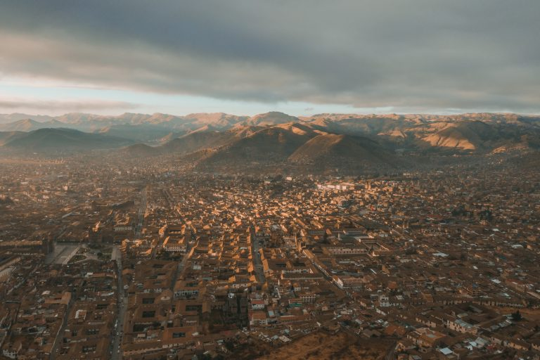 cusco drone photograph