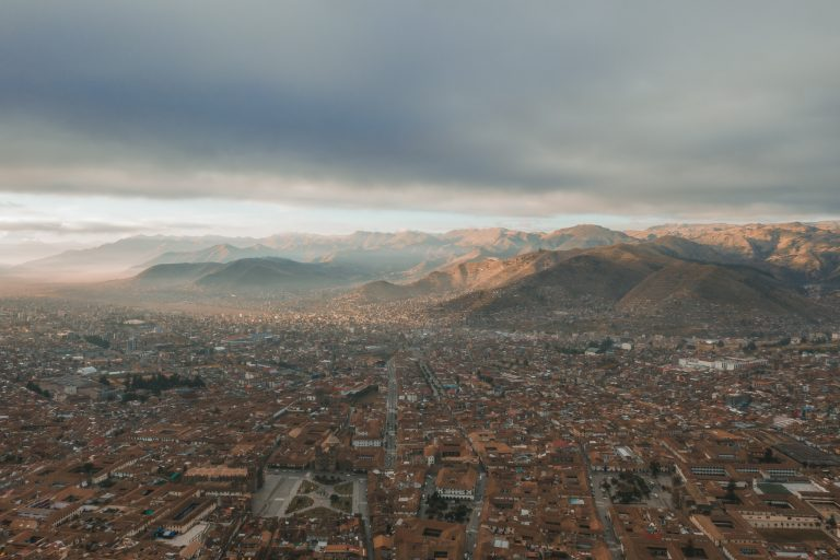 cusco drone photography