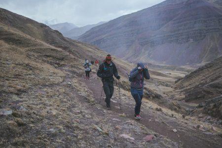 rainbow mountain basecamp hike flashpack