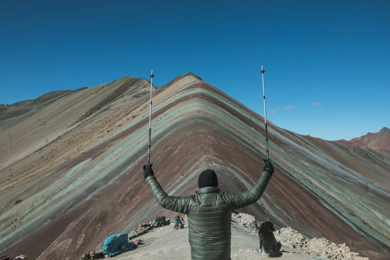 rainbow mountain peru tour group summit