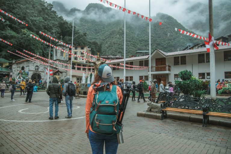 aguas calientes centre peru photography