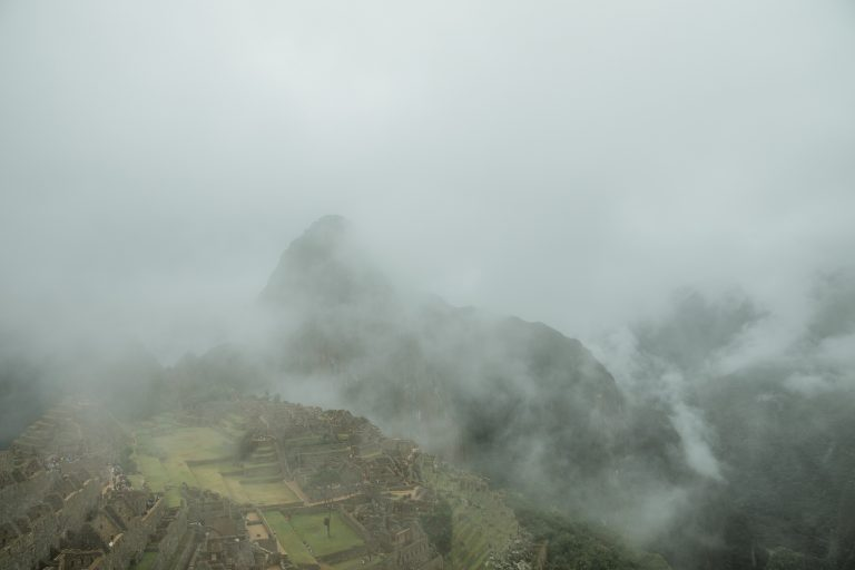machu picchu misty views