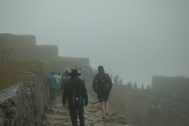 machu picchu misty