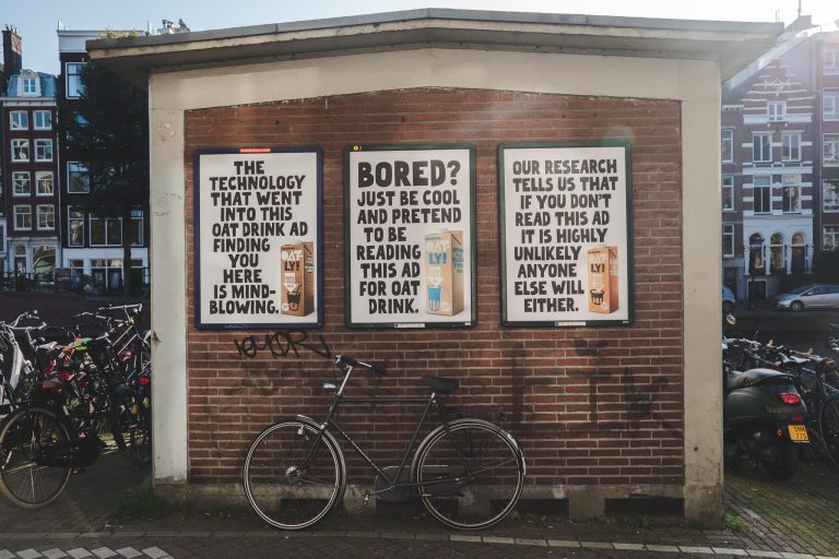 oatly posters amsterdam