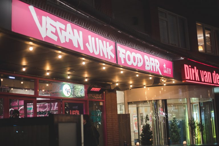 vegan junk food bar amsterdam