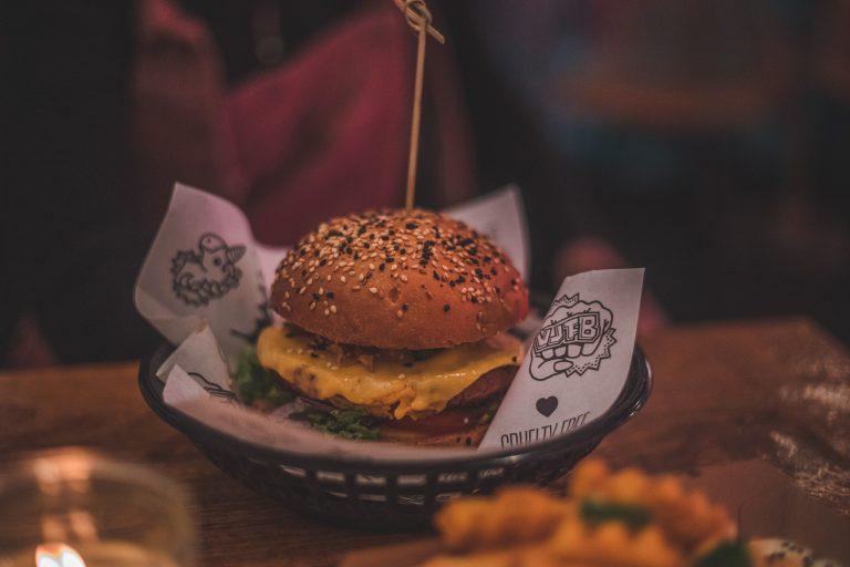 vegan junk food bar amsterdam burger