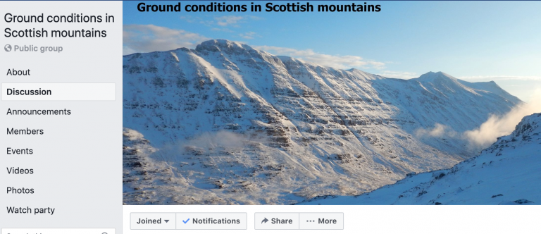 ground conditions scotland facebook
