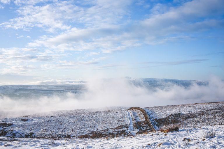 pen y ghent yorkshire dales mist