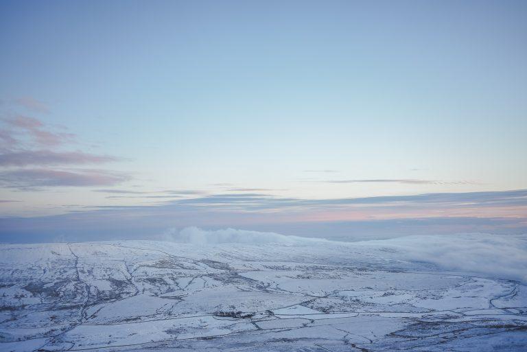 pen y ghent yorkshire dales cloud inversion